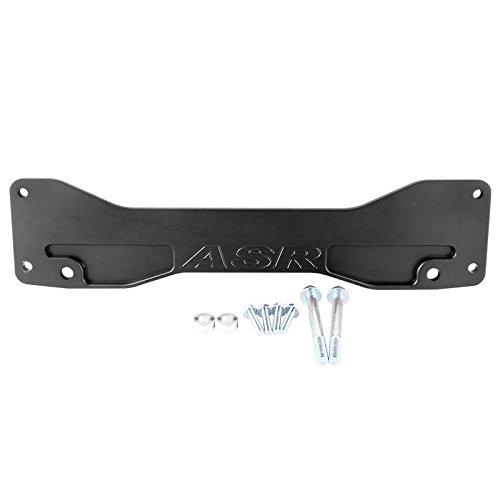 - Qiilu Rear Lower Subframe Brace Tie Bar Subframe Bar for HONDA CIVIC EM EP3 ACURA RSX DC5(Black)