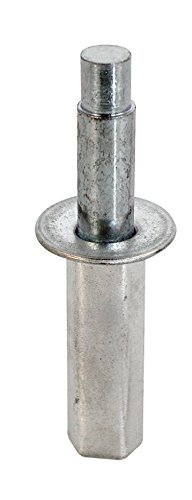 New Life Products 9-1158 Bi-Fold Door Top Pivot steel base, (Pack of ()