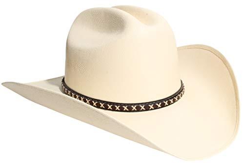 (Western Felt Canvas Cowboy Hats for Men & Women (Many Styles) (Small/Medium, C))