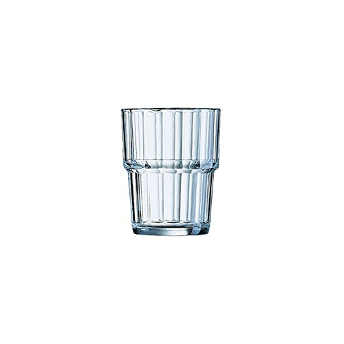 Arcoroc 61697 Norvege 8.5 Oz. Old Fashioned Glass - 72 / CS by ARC Cardinal