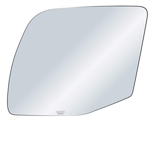 exactafit 8651PL Driver Left Side Mirror Glass Replacement fits Ford Econoline E150 E250 E350 E450 by Rugged TUFF