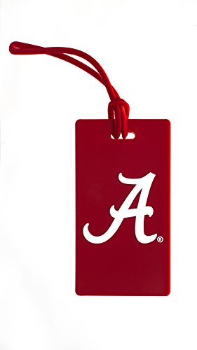 Collegiate Pulse Alabama Crimson Tide NCAA PVC Luggage TAG (Laptop Bag Tide Crimson Alabama)