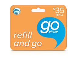 AT&T $35 Prepaid Refill PIN Monthly Plan / Pay As You Go No Annual Contract