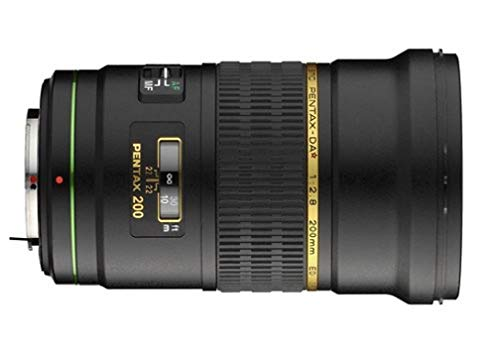 Lente Pentax DA 200mm f / 2.8 ED IF SDM para cámaras Pentax DSLR