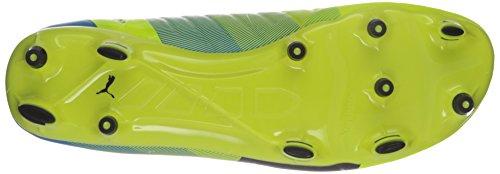 PUMA Mens Evopower 2.3 FG Soccer Shoe Safety Yellow/Black RCGEsEA