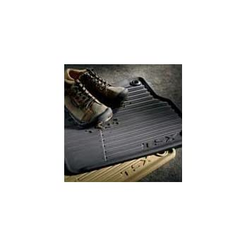genuine oem acura tsx all season floor mats beige set of 4 2010 2012 automotive. Black Bedroom Furniture Sets. Home Design Ideas