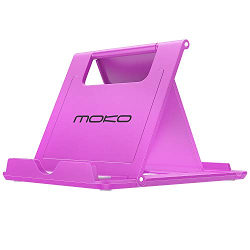 MoKo Cellphone/Tablet Stand, Foldable Multi-Angle Desktop Holder Fit Devices(6-11