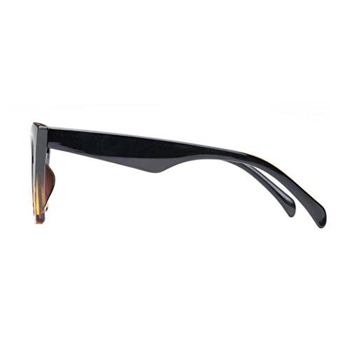 ... Lunettes de Soleil Ansenesna Mode Cat Eye lunettes de soleil Femmes  Retro Transparent Frame marque lunettes 928a1400fe8a