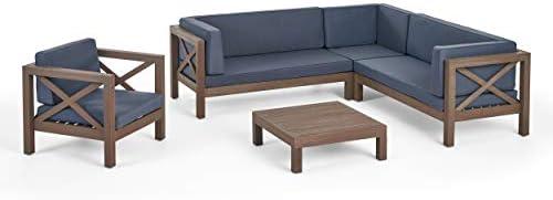 Amazon.com: Great Deal Furniture Morgan - Juego de sofá y ...