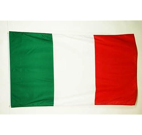 AZ FLAG Bandera de Italia 250x150cm - Gran Bandera Italiana 150 x 250 cm: Amazon.es: Jardín