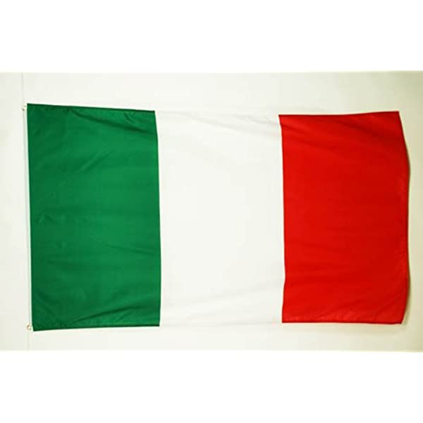 AZ FLAG Bandera de Italia 90x60cm - Bandera Italiana 60 x 90 cm: Amazon.es: Hogar