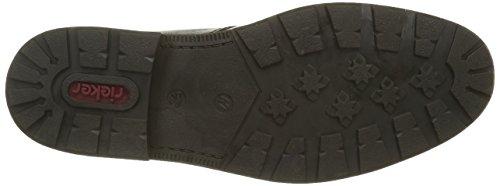 Rieker 153, Botines para Hombre, Negro (Schwarz/Kastanie / 00), 43 EU