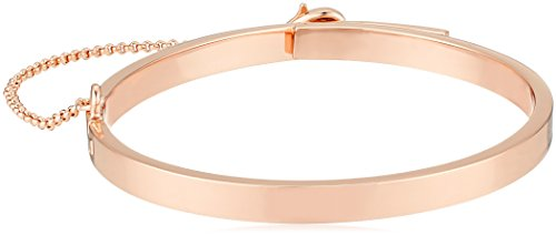 EDDIE BORGO Extra Thin Safety Chain Rose Gold Cuff (12k Gold Cuff Bracelet)