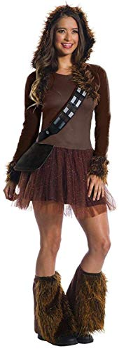 Rubie's Costume Co Women's Standard Star Wars Classic Chewbacca, As Shown, Small