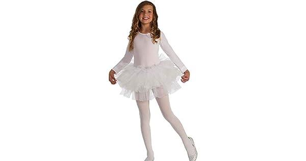 Amazon.com: Disfraz de tutú para niños, color blanco, para ...