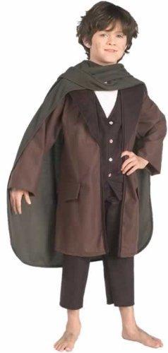 [Frodo Baggins Costume - Large] (Frodo Costume For Kids)