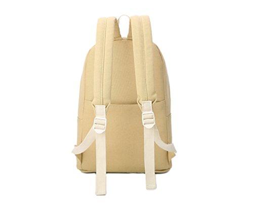 La Carrie Shop - Bolso mochila  para mujer multicolor B-LIGHTBLUE D-YELLOW