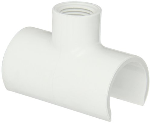 """Spears 464 Series PVC Snap-On Saddle, Schedule 40, 1"""" IPS..."""