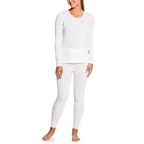 Gregster Sous-vêtements de ski thermiques et isolants - Parfait pour les Sports d'hiver - Pour Femmes