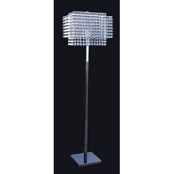 Crystal standing floor lamp light classic modern lighting 6832