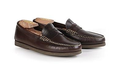 3daf0a8ac9 Bexley - Chaussures Détente Pompano - Homme - 45 Chocolat Marron ...