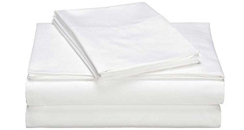 DKNY Queen White SOHO Solid Sheet Set