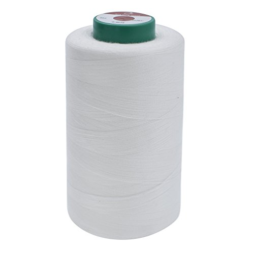 Towashine 402 Water Soluble Thread Spool Invisible 20 Degree Centigrade, 3000 Meters
