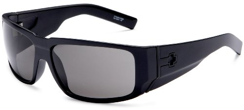 Spy Optic Hailwood Sunglasses,Matte Black Frame/Grey Lens,one - Website Sunglasses Spy