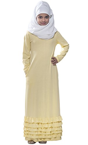 Solid Femme Manches Jaune East Longues Essence Robe F4Ewnxqz8g