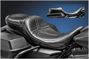 Le Pera Maverick Stitch Daddy Long Legs 2-Up Seat LK-957DL - Le Pera Maverick Seat