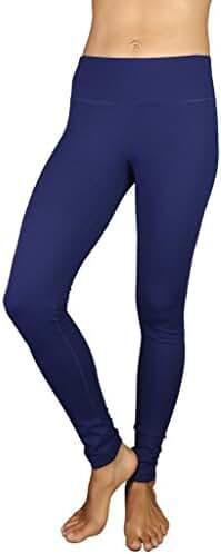 90 Degree by Reflex Power Flex Yoga Pants-Blue Depths