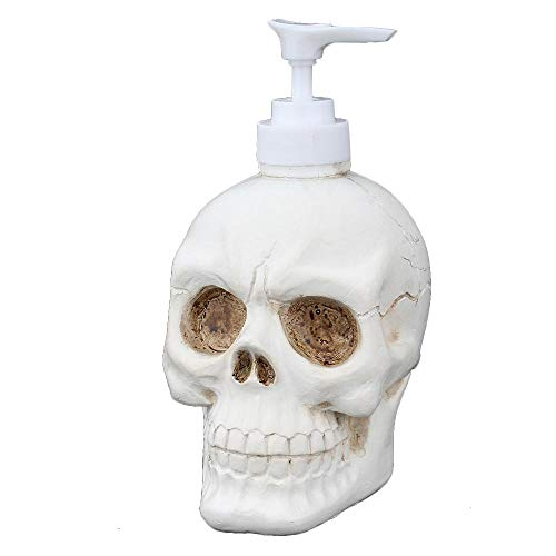 Goglor Creative Skull Shape Shampoo Shower Gel Laundry Liquid Bottle, Fantasy Skull Shape Bottle Liquid Soap Bag Foam Soap Bottling Bathroom Decoration (Best E Liquid Shop)