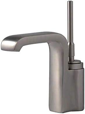 S-TING 蛇口 流域の蛇口ヨーロッパスタイルのホームホットとコールドミックスファッションシンプルな洗面台シングルブラシ蛇口バスルームにはバスルームタップをタップ 水栓金具 立体水栓 万能水栓
