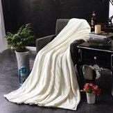 Washcloth Broad Flannel Blankets Bedding - Flannel Blankets Warm Plush Blanket Soft Blanket Bed Home Plane Travel Coperta Throws Sofa - All-Embracing Panoptic Washrag Encompassing - 1PCs by Unknown