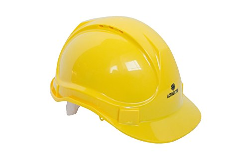 Kids Yellow Construction Hat (Active Kyds Adjustable Yellow Hard Hat for Kids Construction Costume (Small))