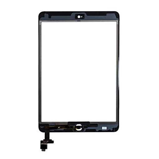 Touch Screen for iPad Mini 1 2 RetinaWhite,Front Screen Digitizer with IC Chip /&