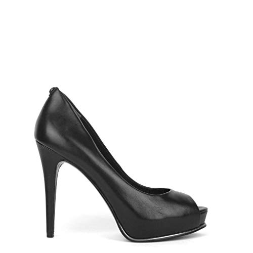 Lea07 Flef24 Mujeres Zapatos Negro Guess 5UB0x