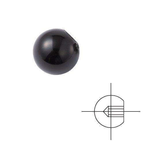 Vertex, Handle, Ball Knob, Bakelite, Round 38 mm (1.50 inches), M12, VKB-12AA, 7003-127A (Bakelite Ball)