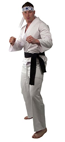 Karate Kid Daniel - San Adult Standard Costume (Karate Kid Costume)