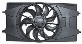 QP SN997-b Saturn Ion Sedan Replacement AC A//C Condenser Radiator Cooling Fan//Shroud Assembly