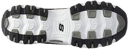 Deporte white Skechers black Negro Time D'lites Zapatillas 11936w Wide De Me Mujer Para TrT7OFq0