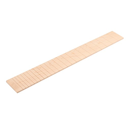 (StewMac Slotted Fingerboard for Paul Reed Smith and Dobro Guitars, Flat, Maple)