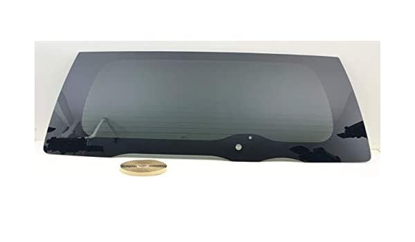 NAGD Compatible with 2000-2005 Ford Excursion Back Window Back Tailgate Glass Heated OEM W//Tape