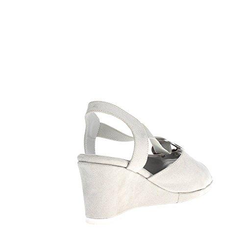 51551CS Soft Grau Damen Sandal Cinzia g5TwH