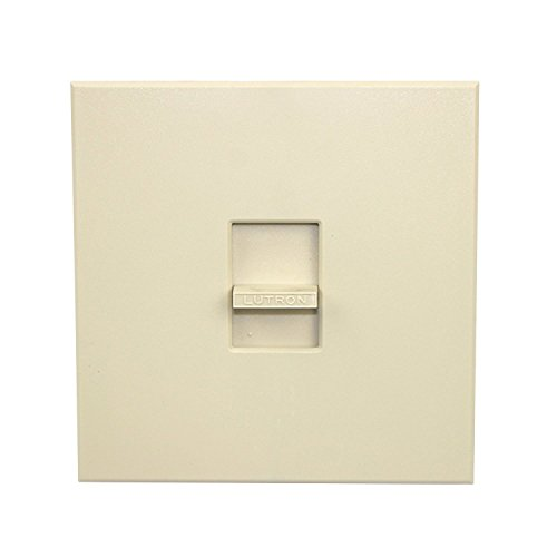 Lutron Electronics N-2000-IV Nova Single Pole Slide Off Wall Switch Dimmer 2000W, Ivory