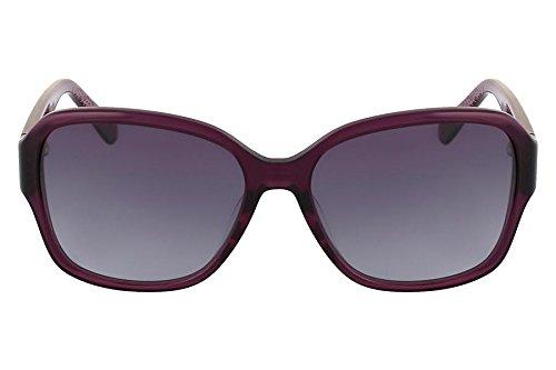4cbfd495958f0 Óculos De Sol Nine West Nw554S 515 57 Roxo Transparente ...