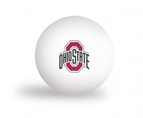 Ohio Game Table State (NCAA Ohio State University Buckeyes 6 pack Ping Pong Balls)