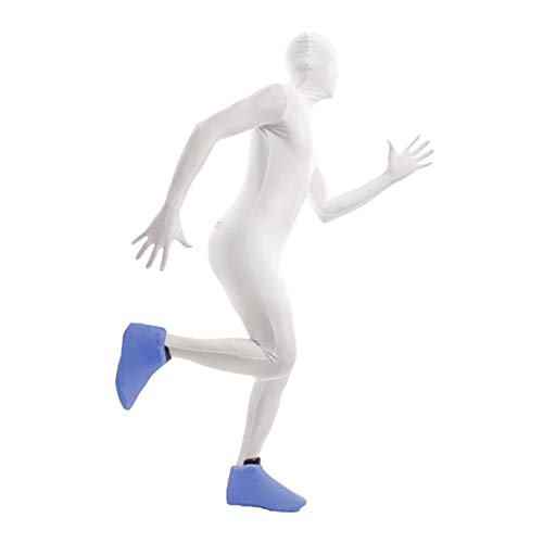 Morphsuits Blue Shoe Covers One Size Colourful Costume Accessory
