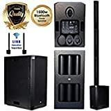 Best Line Array Speakers - EMB 10BT PK1 1500W Tower Bluetooth All-in-One Linear Review