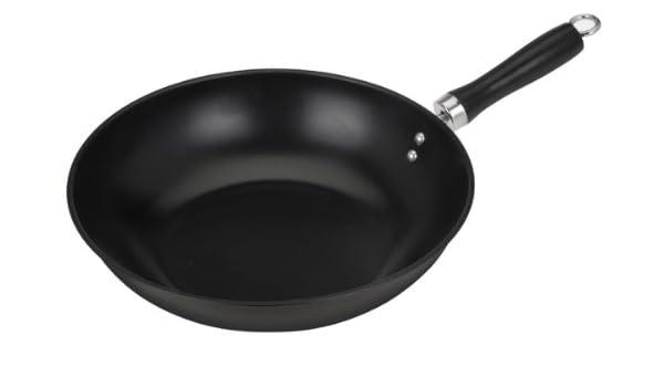 Sartén wok para fogón o vitrocerámica (diámetro 30 cm ...